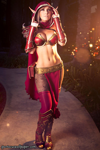 Jessica Nigri - Blood Elf