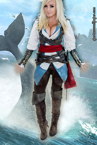 Jessica Nigri - Black Flag