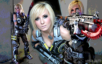 Jessica Nigri - Gears Of War